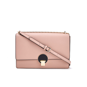 Vivienne Westwood Women's Opio Saffiano Leather Large Fold Over Shoulder Bag - Pink