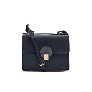Vivienne Westwood Women's Opio Saffiano Leather Small Shoulder Bag - Black