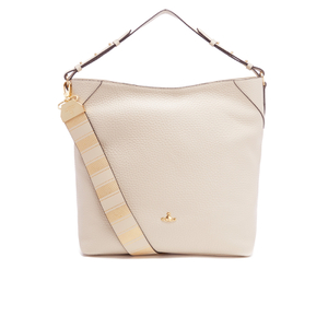 Vivienne Westwood Women's Belgravia Hobo Leather Bag - Beige