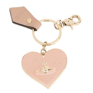 Vivienne Westwood Women's Mirror Heart Keyring - Pink