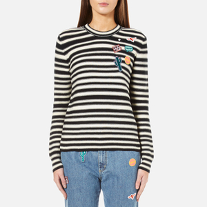 PS by Paul Smith Women's Stripe Jumper - Black