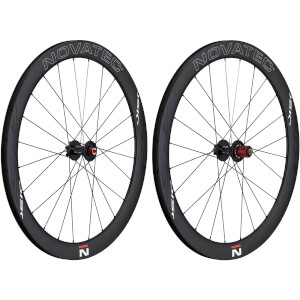 Novatec R5 Carbon Clincher Disc Wide Wheelset - Shimano
