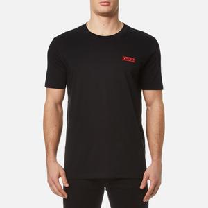 HUGO Men's Durned Small Logo T-Shirt - Black