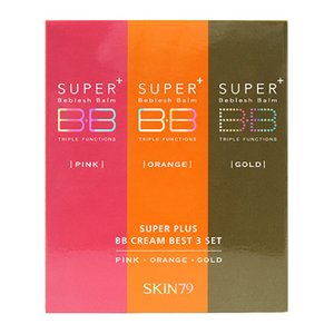 Set de 3 BB Crèmes Best Super Plus Skin79