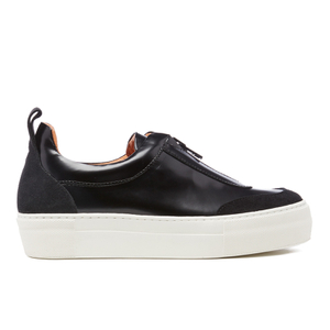 Ganni Women's Poppy Shine Trainers - Black