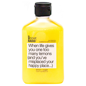 Not Soap Radio When life gives you one too many lemons (and you've misplaced your happy place...) Bubbles for Bath/Shower 402.5ml