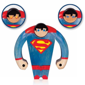DC Comics Superman Wood Figure