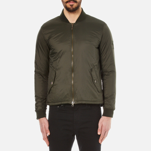 Barbour X Steve McQueen Men's Oil Field Quilt Jacket - Sage
