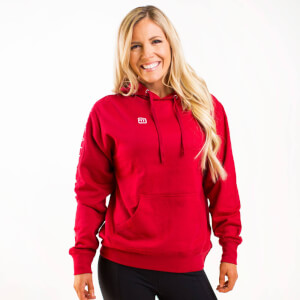 IdealFit Light Weight Hoodie Red