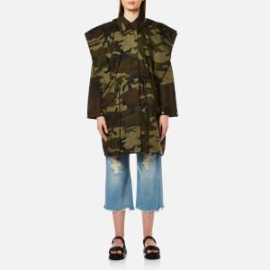MM6 Maison Margiela Women's Oversized Camouflage Parka - Military Camouflage