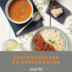 Instrucciones de Preparación Exante