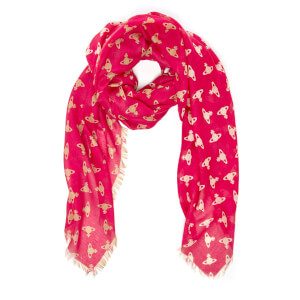 Vivienne Westwood Women's Mantero Wool Scarf - Red