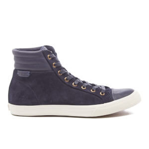 Polo Ralph Lauren Men's Geffron Hi-Top Trainers - Navy/Newport Navy