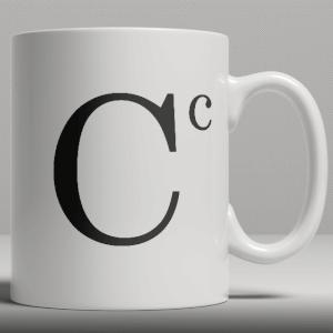 Keramische Mok - Letter C