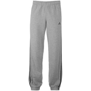 adidas Men's Essential 3 Stripe Sweatpants - Grey
