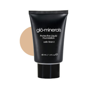 glominerals gloProtective Liquid Base Oil Free Satin II - Natural-Fair