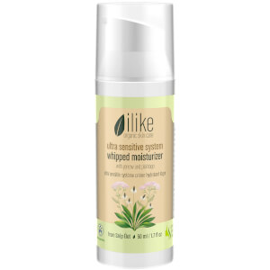 ilike organic skin care Ultra Sensitive System Whipped Moisturizer