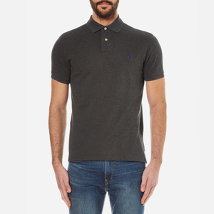 Polo Ralph Lauren Men's Custom Fit Polo Shirt - Bristol Heather