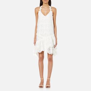 Three Floor Women's Summer Swirl Dress - White