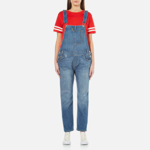 Levi's Women's Heritage Overalls - Gold Rush Blue