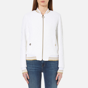 Versace Jeans Women's Bomber Jacket - White