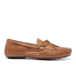 Polo Ralph Lauren Men's Wyndings Leather Loafers - Polo Tan