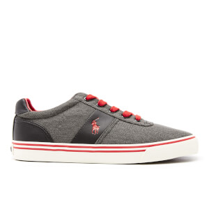 Polo Ralph Lauren Men's Hanford Vintage Cotton Vulcanised Trainers - Black
