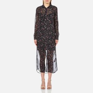Gestuz Women's Stacie Long Shirt Dress - Mini Flower