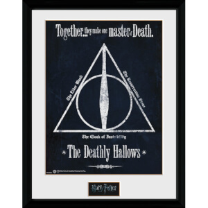 Harry Potter Deathly Hallows Framed Photographic - 16