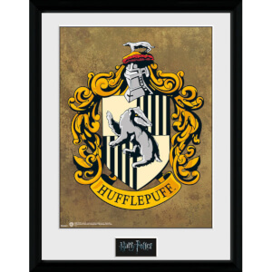 "Harry Potter Hufflepuff Framed Photographic - 16"""" x 12"""