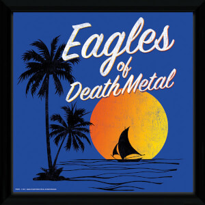Eagles Of Death Metal Sunset Framed Album Cover - 12