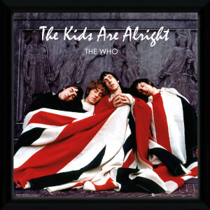The Who The Kids Are Alright Framed Album Cover - 12