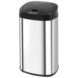 Morphy Richards 971005 42L Square Sensor Bin - Black
