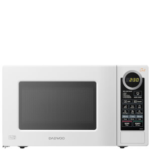 Daewoo KOG6L7B Microwave Oven and Grill 800W - White