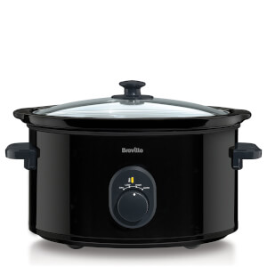 Breville VTP105 4.5L Slow Cooker - Black