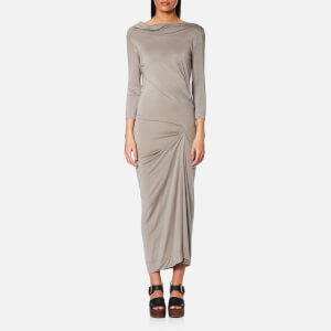 Vivienne Westwood Anglomania Women's Long Sleeve Taxa Dress - Natural