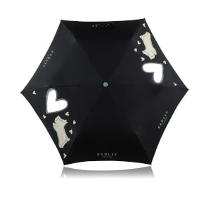 Radley Women's Dog in the Window Umbrella - Black