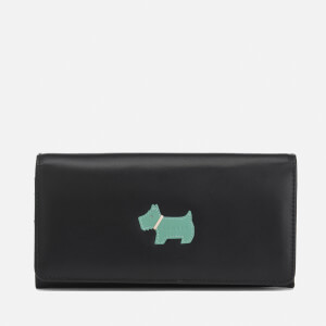 Radley Women's Heritage Dog Foldover Matinee Purse - Black