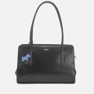 Radley Women's Liverpool Street Medium Ew Tote Bag Shoulder Zip Top Bag - Black