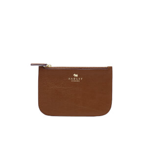 Radley Small Zip Pouch - Tan (Free Gift)