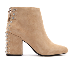Senso Women's Jescinta II Suede Heeled Ankle Boots - Sand