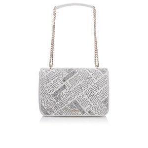 Love Moschino Women's Love Printed Shoulder Bag - White