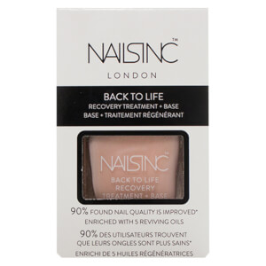 nails inc. Back to Life Recovery Treatment and Base Coat 14ml: Image 3
