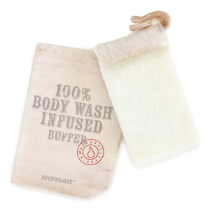 Spongelle Spongology Body Wash Infused Anti-Cellulite Glove - Milk & Honey