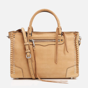 Rebecca Minkoff Women's Regan Stud Satchel - Sand