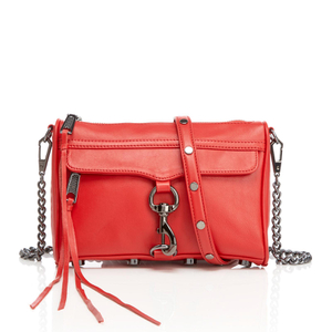 Rebecca Minkoff Women's Mini M.A.C. Cross Body Bag - Blood Orange