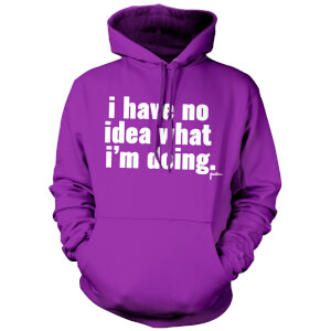 Jaiden I have no idea.. Hoodie - Purple