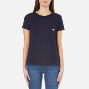 Maison Kitsuné Women's Fox Patch T-Shirt - Navy