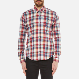 Barbour Men's Oscar Long Sleeve Shirt - White