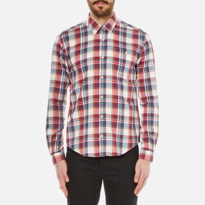 Barbour Men's Oscar Long Sleeve Shirt - White